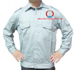 Áo bảo hộ vải kaki Nhật dày cotton mầu ghi đá+hải quân xanh tím+hải quan+ghi sáng,màu be vàng(pha)(kiểu VT)
