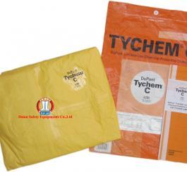Áo liền quần giấy TYCHEM C -Mỹ mầu vàng chống Hóa chất