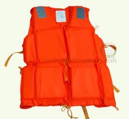 Áo phao TQ màu cam+áo 4 đai