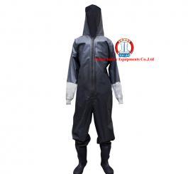 Quần áo cao su chống Hóa chất, acid - TQ