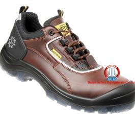 Giày da Bỉ nam - da mầu nâu thấp cổ