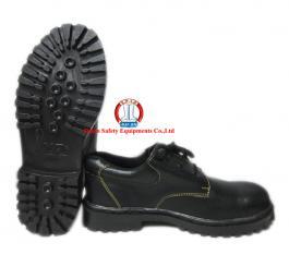 Giày da đen thấp cổ đế XP thường