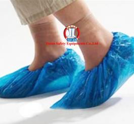 Bao giày phòng sach nilon xanh thấp cổ