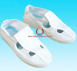 Giày vải chống tĩnh điện TQ ( mầu trắng )