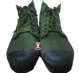 Giày vải X26 cao cổ cấp phát