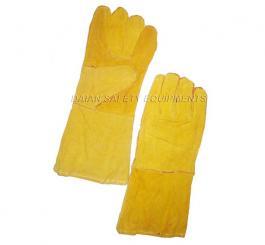 Găng da dài 2 lớp ĐL (màu vàng)