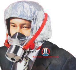 Mũ chống cháy Amiăng Trung Quốc hình nam (mũ thoát hiểm phòng khói độc) thở 30 phút