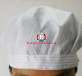 Mũ bao tóc vải Tĩnh điện Vinilon trắng kẻ TQ