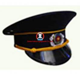 Mũ kepi  mầu tím than vải Casimer( bảo vệ )