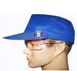 Mũ vải lưỡi trai chéo xanh + kk NĐ các màu