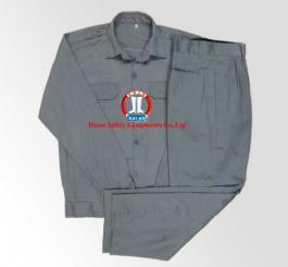 Quần áo kaki Nam Định màu ghi ánh xanh+xanh dương