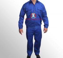 Quần áo chéo thường mầu  xanh L1