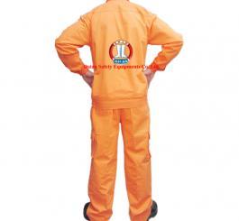 Quần áo kaki Nhật dày cotton màu cam ( có tem ĐL, có túi hộp )