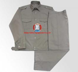 Quần áo kaki Păng rim các màu , kiểu VT(đai liền, 2 cầu vai,không túi hộp)các mầu(ghi sáng+ghi xi măng+xanh dương)