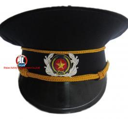 Sao to + cành tùng gắn mũ ( Bảo vệ )