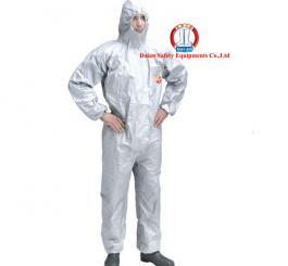 Áo liền quần giấy TYVEC Hàn Quốc mầu ghi chống hóa chất
