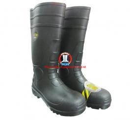 Ủng CS Mỹ - Jogger chống hóa chất, trơn trượt, mũi sắt, đế lót sắt