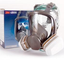 Mặt nạ phòng độc Mỹ 3M - 6800 + 2 phin lọc 6001
