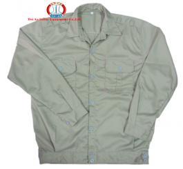 Áo BH vải kaki LDHQ các màu ( ghi + xanh dương + trắng )