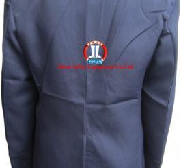 Áo đại cán tím than vải Casimer ( Bảo vệ )