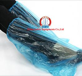 Bao giày đi mưa nilon trắng cao cổ (1 túi = 2 đôi)