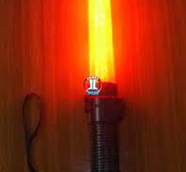 Gậy chỉ huy (dùng pin) dài 30cm (có đèn rọi,có còi)