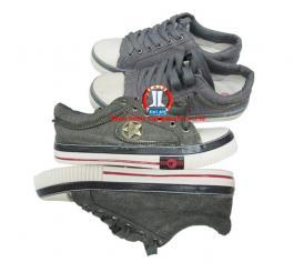 Giày vải TQ các loại (sao khóa có dây + dính ko dây)