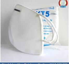 Khẩu trang vải KT5 - 3 lớp lót mút