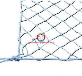 Lưới an toàn VN dù trắng (xanh) mắt 10x10, dây đan Ø3