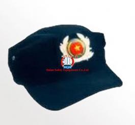 Mũ vải lưỡi trai 3 cạnh mầu rêu + mầu đất ( DQ tự vệ, bảo vệ )