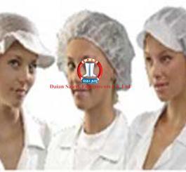 Mũ bao tóc vải xoa trắng