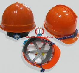 Mũ nhựa Hàn Quốc núm vặn có xốp L2 (trắng + vàng cam + vàng chanh)