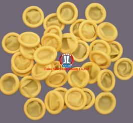 Ngón tay cao su mầu vàng dày TQ ( 500 cái/túi )