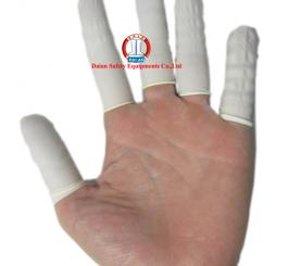 Ngón tay cao su trắng mỏng Hàn Quốc ( 1000 cái/túi )