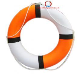 Phao tròn xốp LD (cam+trắng) cao cấp HD, loại đường kính 75 cm