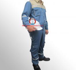 Quần áo kaki Păng rim M2721 màu ghi chì phối mầu hải quan ngoại, có P/Q túi hộp