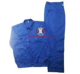 Quần áo kaki Nam Định màu ghi ánh xanh + xanh dương