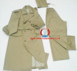 Quần áo mưa choàng sĩ quan X26 (kiểu măng tô)