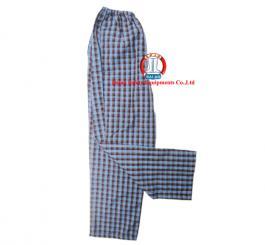 Quần blu vải lon Nhật + Thô, mầu trắng+ Quần vải kẻ