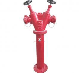 Trụ nước cứu hỏa VN, đầu vào Ø100, 2 đầu ra Ø65 (2 cửa)