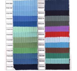Quần áo vải tĩnh điện TQ ( Pha 65/35 hoặc cotton ) màu tím than