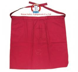Yếm vải kaki cotton dày mầu đỏ đun ngắn ( ngang người )