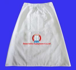 Yếm bếp kaki trắng ngắn ( ngang người )